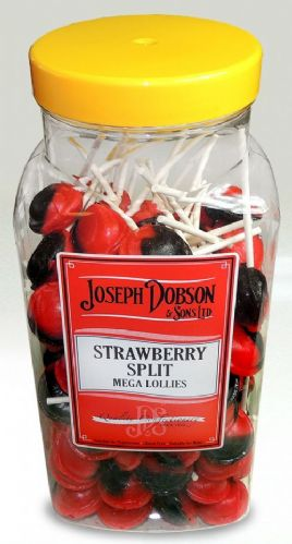 Joseph Dobson Strawberry Split Lollies